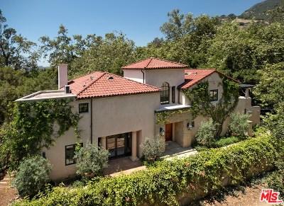 Santa Barbara County Single Family Home For Sale: Park Lane West