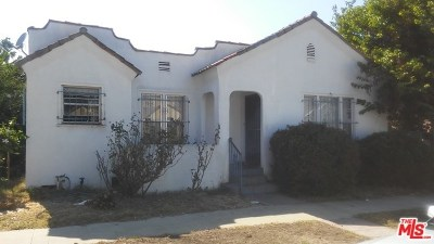 Los Angeles Single Family Home Active Under Contract: 6411 Kansas Avenue