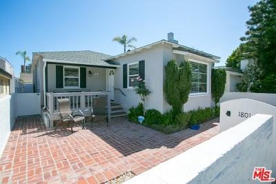 Newport Beach Single Family Home Active Under Contract: 1801 E Balboa Boulevard