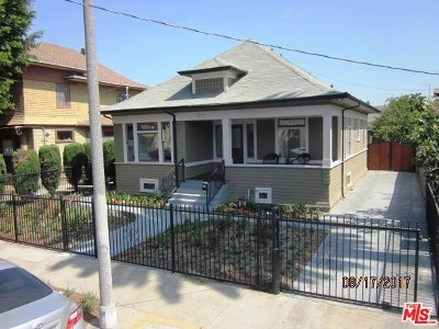 Los Angeles Single Family Home For Sale: 1011 W 20th Street