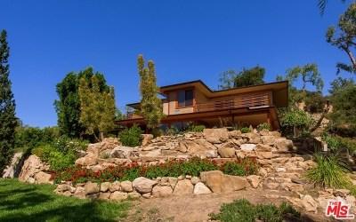 Topanga Single Family Home For Sale: 2778 Halsey Road