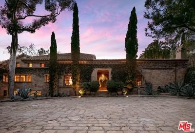 Santa Barbara County Single Family Home For Sale: 2840 Hidden Valley Lane