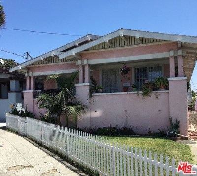 Los Angeles Multi Family Home For Sale: 1714 Orchard Avenue