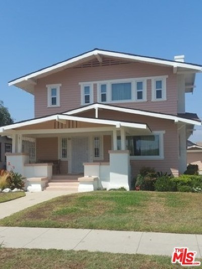 Los Angeles Single Family Home For Sale: 1811 W 42nd Place