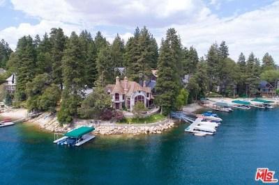 Lake Arrowhead Single Family Home For Sale: 28055 Peninsula Drive