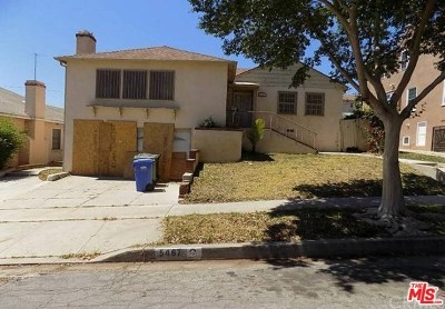 Los Angeles Single Family Home For Sale: 5467 Bradna Drive