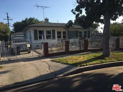 Los Angeles Single Family Home For Sale: 10529 W Zamora Avenue