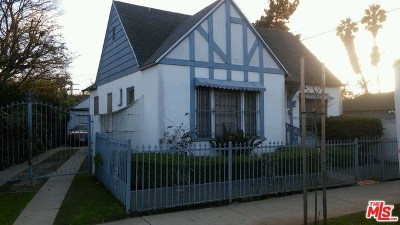 Los Angeles Single Family Home For Sale: 3512 W 25th Street