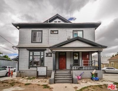 Los Angeles Multi Family Home For Sale: 1503 Menlo Avenue