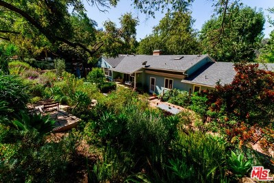 Studio City Single Family Home Active Under Contract: 11801 Laurel Hills Road