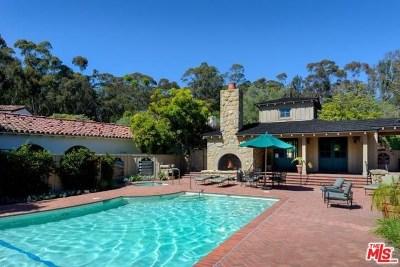 Santa Barbara County Single Family Home For Sale: 499 Monarch Lane