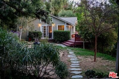 Topanga Single Family Home For Sale: 21838 Encina Road