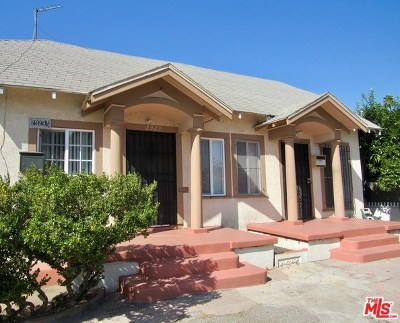 Los Angeles Multi Family Home For Sale: 2927 S Budlong Avenue