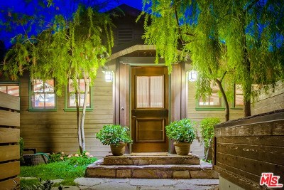 Topanga Single Family Home Active Under Contract: 19553 Bowers Drive
