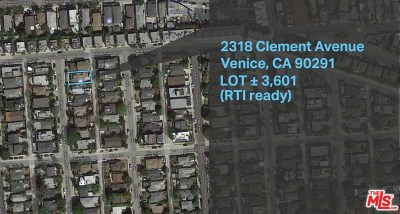 Venice Single Family Home For Sale: 2318 Clement Avenue