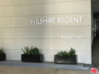 Los Angeles Condo/Townhouse For Sale: 10501 Wilshire #1905