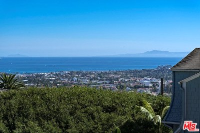 Santa Barbara County Single Family Home For Sale: 1810 Loma Street