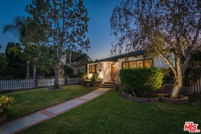 Toluca Lake Single Family Home For Sale: 5121 Auckland Avenue