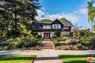 Santa Monica Single Family Home For Sale: 435 Georgina Avenue