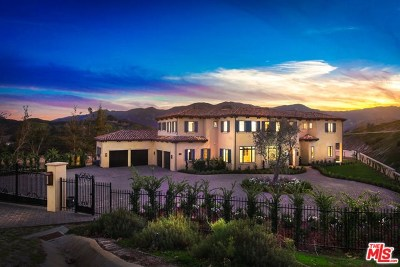 Brentwood, Calabasas, West Hills, Woodland Hills Single Family Home For Sale: 26769 Mulholland Highway