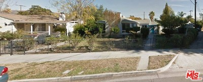 Burbank Multi Family Home Active Under Contract: 1500 N Screenland Drive