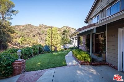 Topanga Single Family Home For Sale: 3504 Old Topanga Canyon Road