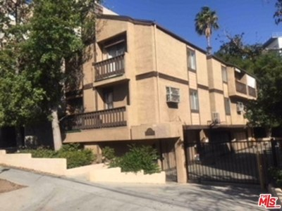 Los Angeles Condo/Townhouse For Sale: 1628 N Formosa Avenue #B