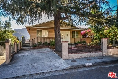 La Crescenta Single Family Home For Sale: 3606 2nd Avenue