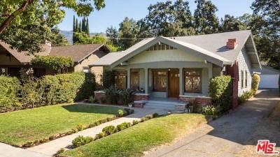 Pasadena Single Family Home For Sale: 794 N Michigan Avenue