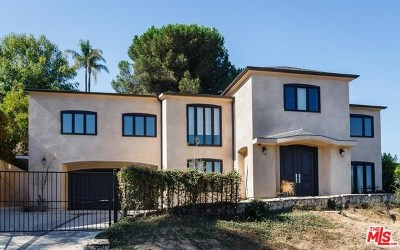 Studio City Single Family Home For Sale: 11468 Dona Teresa Drive