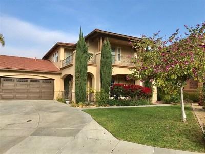 Chula Vista Single Family Home For Sale: 2851 Charleston Place