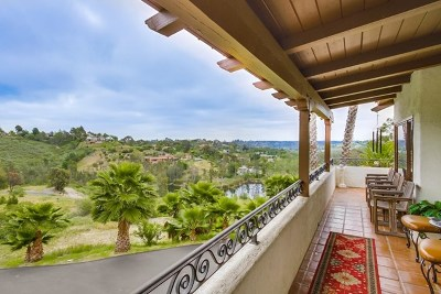 Encinitas Single Family Home For Sale: 3485 Lone Jack Rd