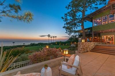 San Deigo, San Diego, San Diego/north Pacific Beach Single Family Home For Sale: 4095 Lomaland Dr