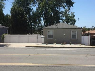 Lemon Grove Multi Family Home For Sale: 1916 Skyline Drive