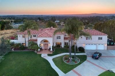 Vista Single Family Home For Sale: 2347 Vista Grande Dr