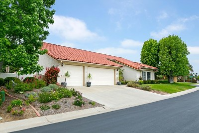 Fallbrook Single Family Home For Sale: 1019 Ridge Heights Dr