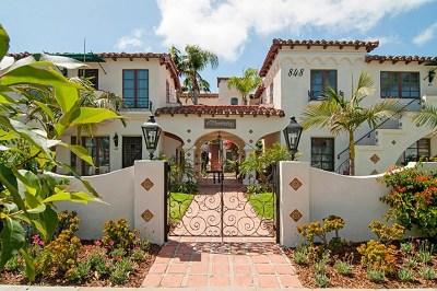 Coronado Condo/Townhouse For Sale: 848 D Avenue #206