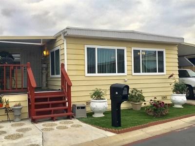 Chula Vista Single Family Home For Sale: 444 Anita St #SPC 36