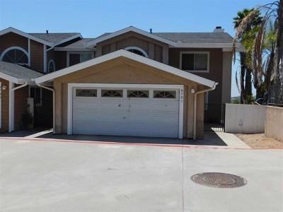 Spring Valley Condo/Townhouse For Sale: 8707 Vista Del Oro Way