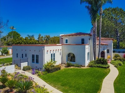 Encinitas Single Family Home For Sale: 407 Shore View Lane