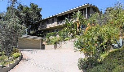 Eagle Rock Single Family Home For Sale: 4919 Avoca St.