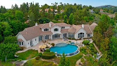 Encinitas Single Family Home For Sale: 3273 Violet Ridge