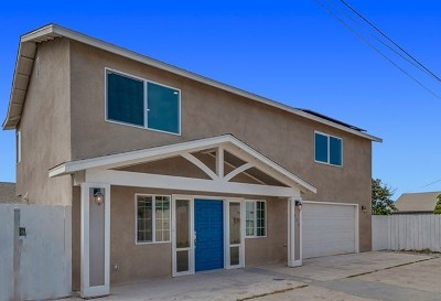 Imperial Beach Single Family Home For Sale: 935 Emory St.