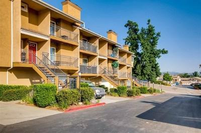 Escondido CA Condo/Townhouse Active Under Contract: $349,000