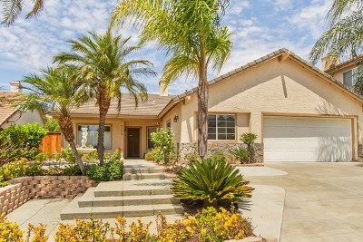 Murrieta Single Family Home For Sale: 23658 Wooden Horse Trail