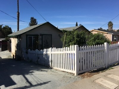 National City Multi Family Home For Sale: 3320 Cypress