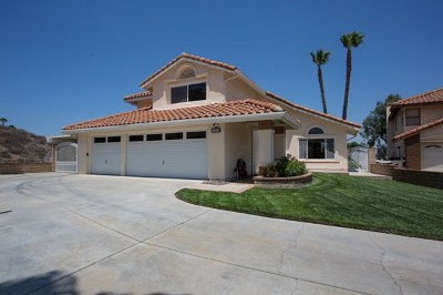 Riverside, Temecula Single Family Home For Sale: 17408 Windcreek Circle