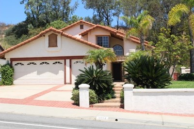 El Cajon Single Family Home For Sale: 11804 Calle Albara