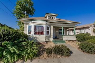 El Cajon CA Single Family Home Active Under Contract: $280,000