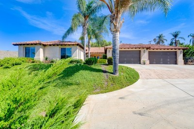 Vista Single Family Home For Sale: 3020 Shale Rock Rd